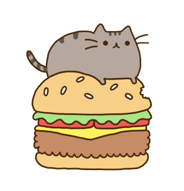 Pusheen vector computer. Cat clipart