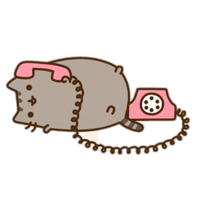 Pusheen unicorn png. Transparent stickpng on the