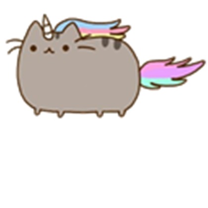 Pusheen unicorn png. Is a transparent roblox