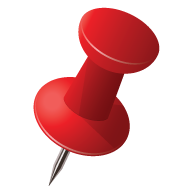 Pushpin vector. Push pin png free
