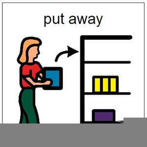 Put away clipart. Things free images at
