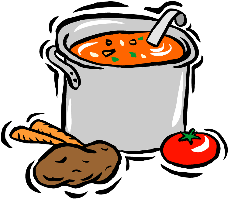 Cook clipart home made food. Put veggies in the
