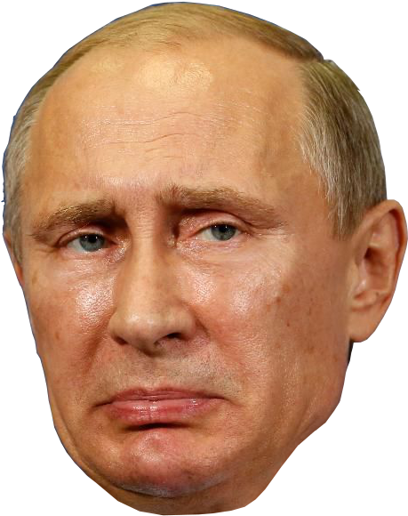 Putin head png. Download president of russia