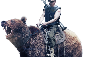 Putin riding png. On bear image related