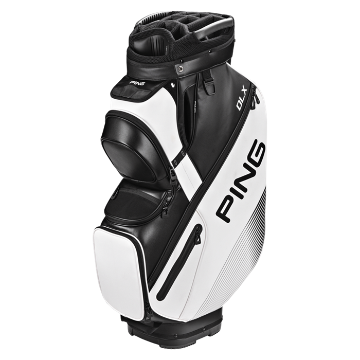 Putter clip golf bag. Ping cart bags dlx