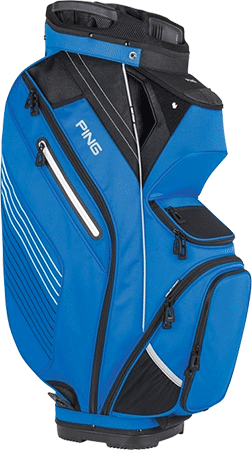 Putter clip golf bag. Cart buyers guide