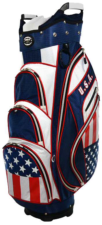 Putter clip golf bag. Hot z usa flag