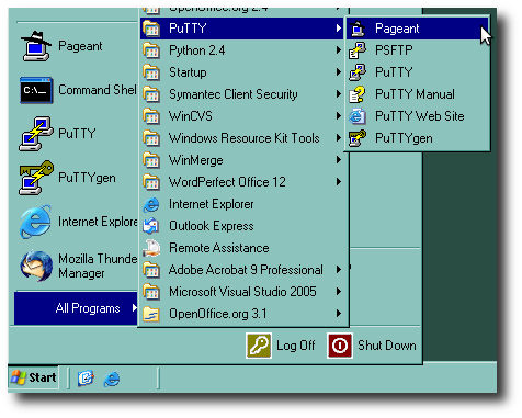 Putty transparent. Windows guide national radio