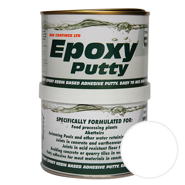 Putty transparent clear. Epoxy filler ask coatings
