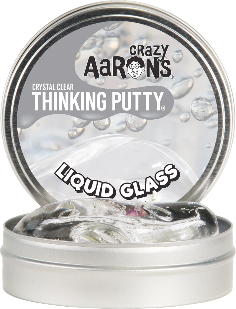 Crazy aarons thinking crystal. Putty transparent svg royalty free