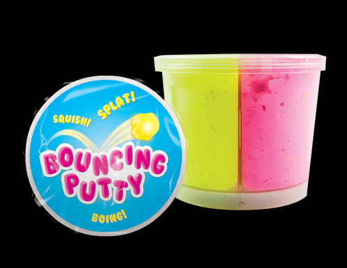 Putty transparent peeps. Bouncing these pots of