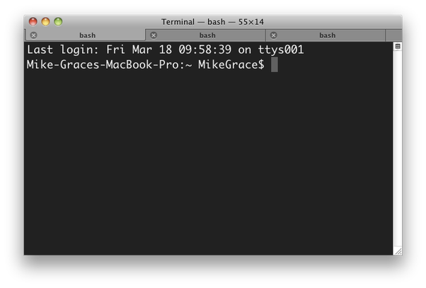 Putty transparent terminal. What is the equivalent