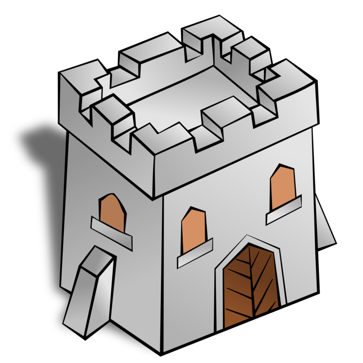Puzzle clipart building. Fortification computer icons castle