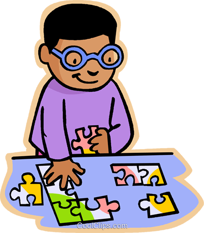 Puzzle clipart cartoon. At getdrawings com free