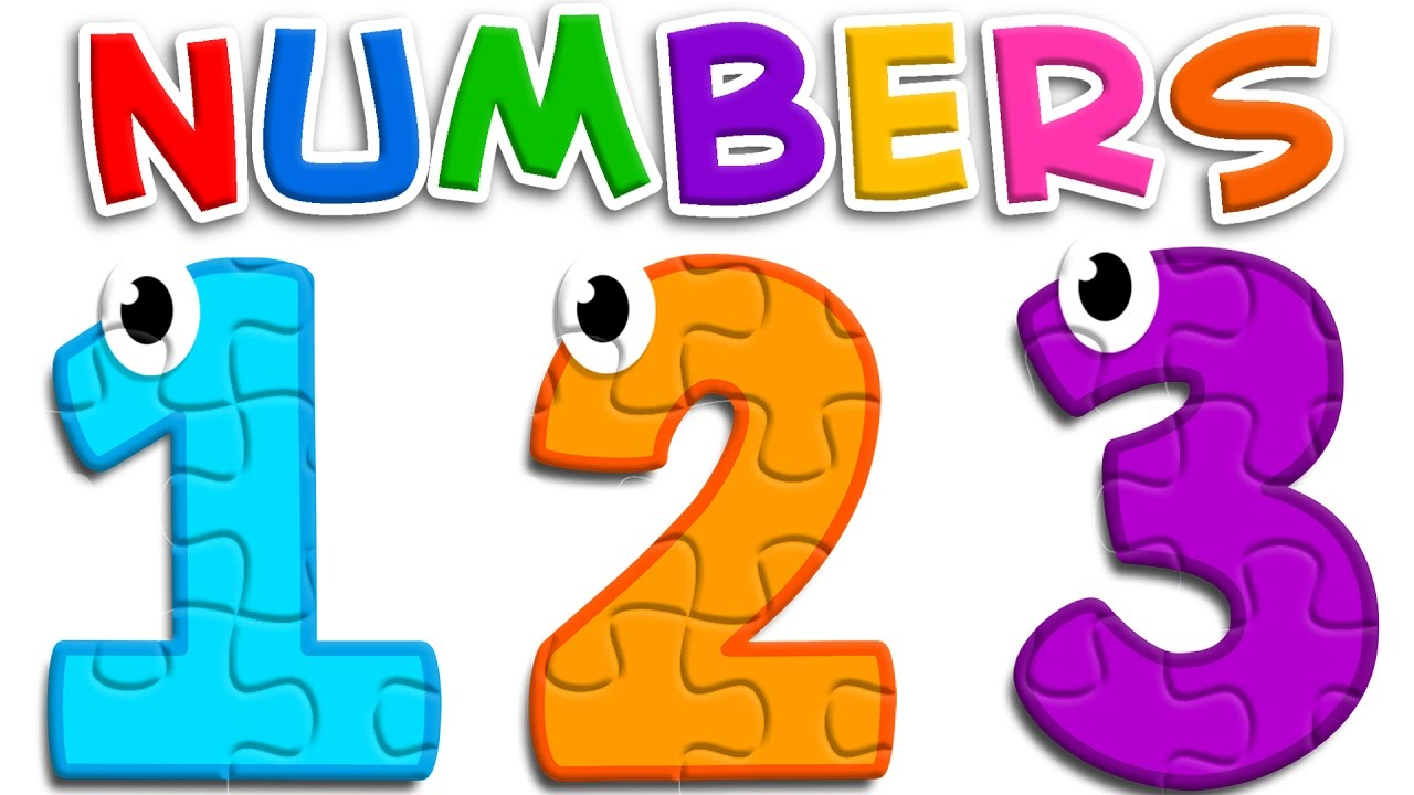 Puzzle clipart number puzzle. Learn numbers with toys