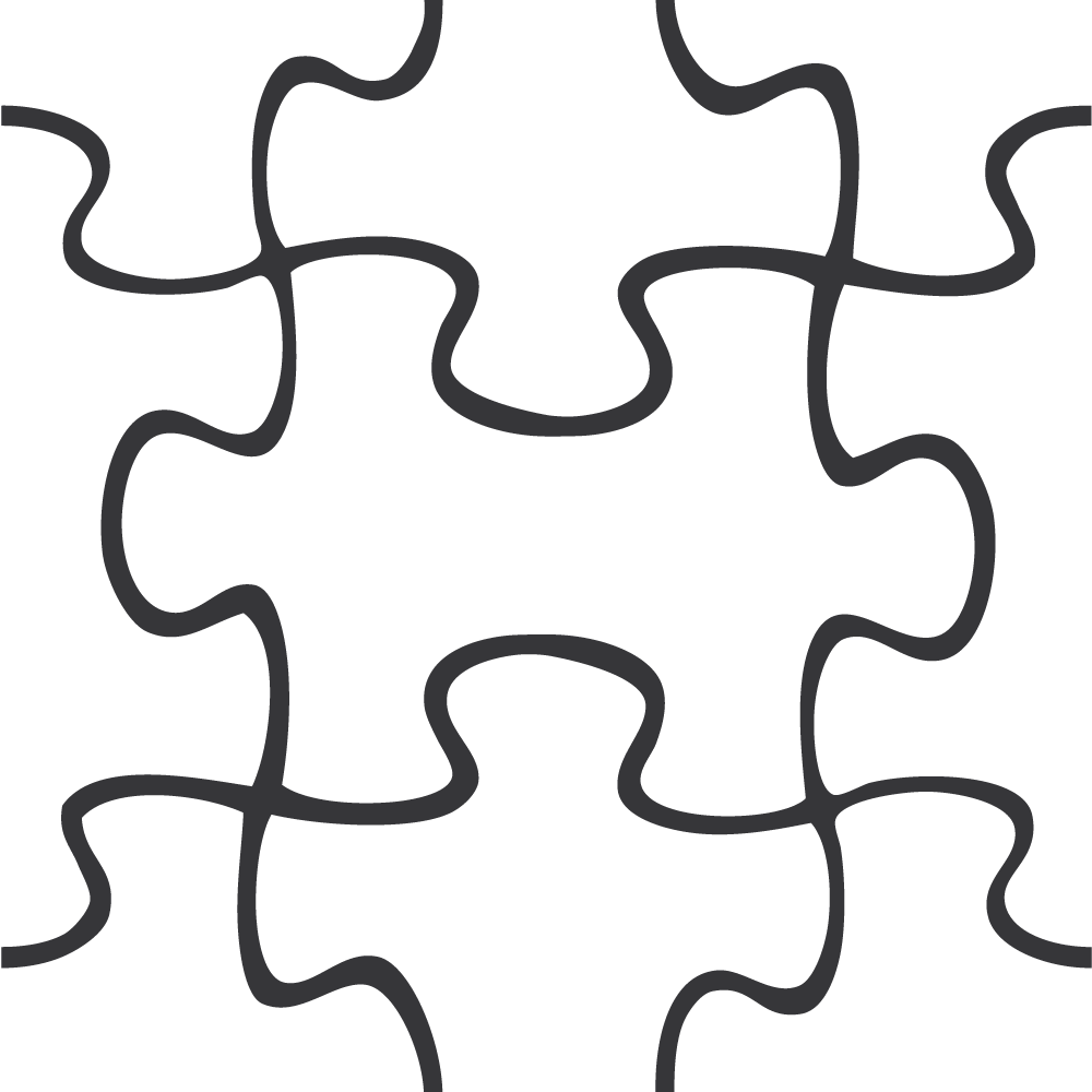Puzzle template png. For powerpoint