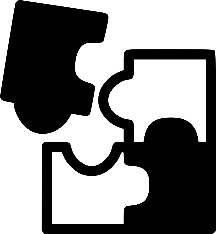 puzzle pieces icon png