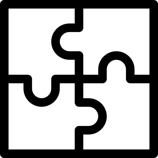 Puzzle pieces icon png. Hobbies and free time
