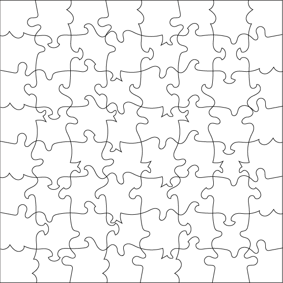 Puzzle texture png. Creating custom jigsaw patterns