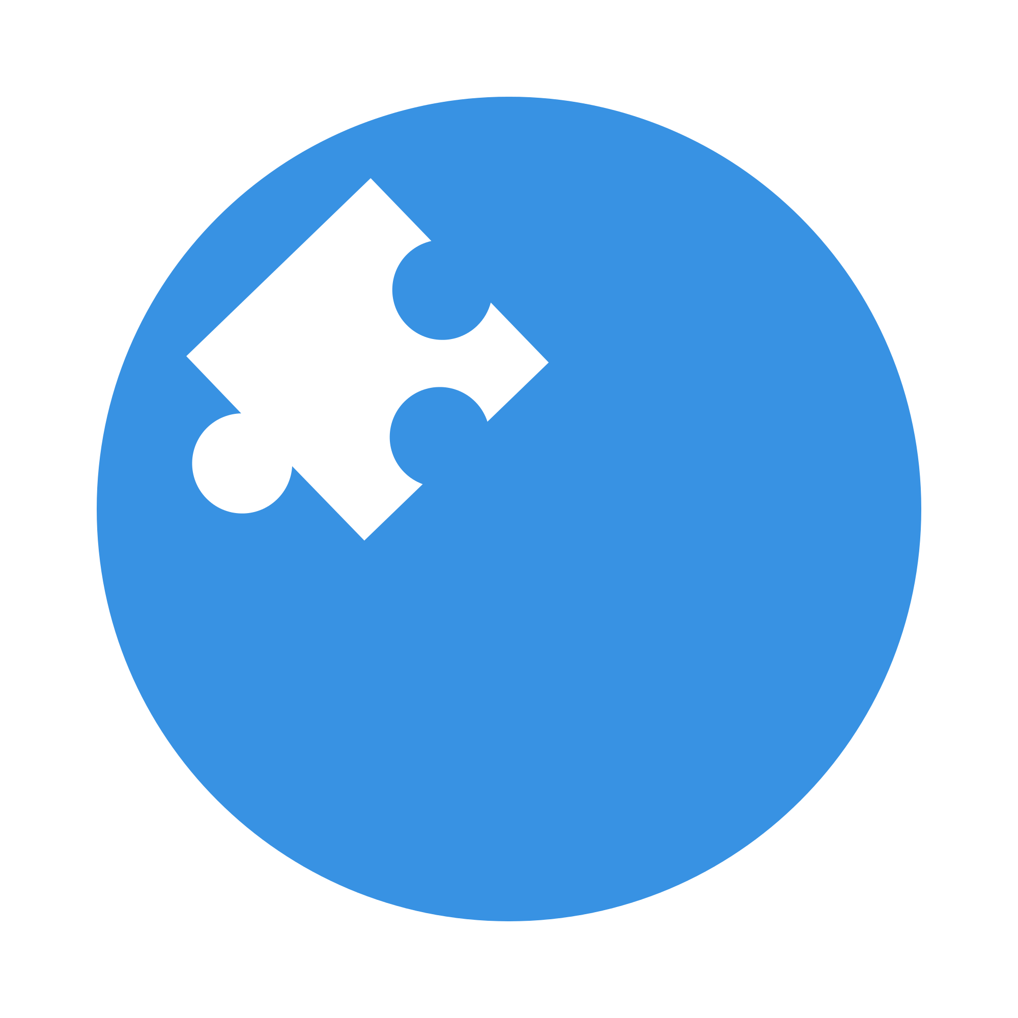 Puzzle transparent logo. File simple svg wikimedia