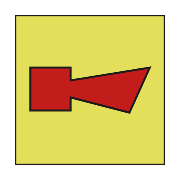 Pvc horn png. Fire alarm imo sign