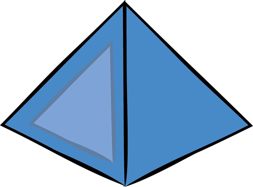 Pyramid clipart. The top best blogs