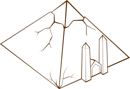 Pyramid clipart house egyptian. Panda free images info