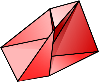 Triangle clip triangular. Triangles are the strongest