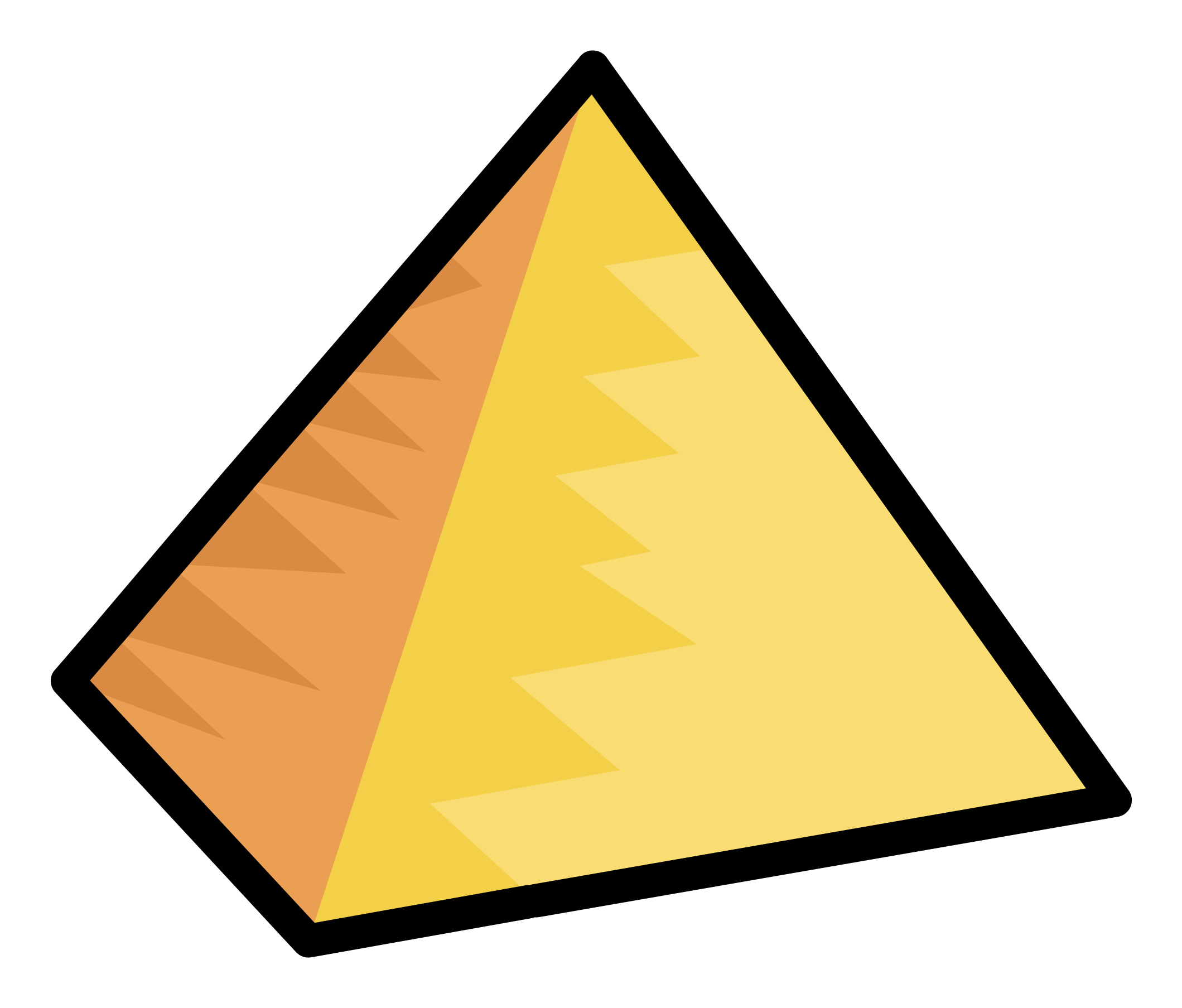 Pyramid clipart png. Image pin club penguin