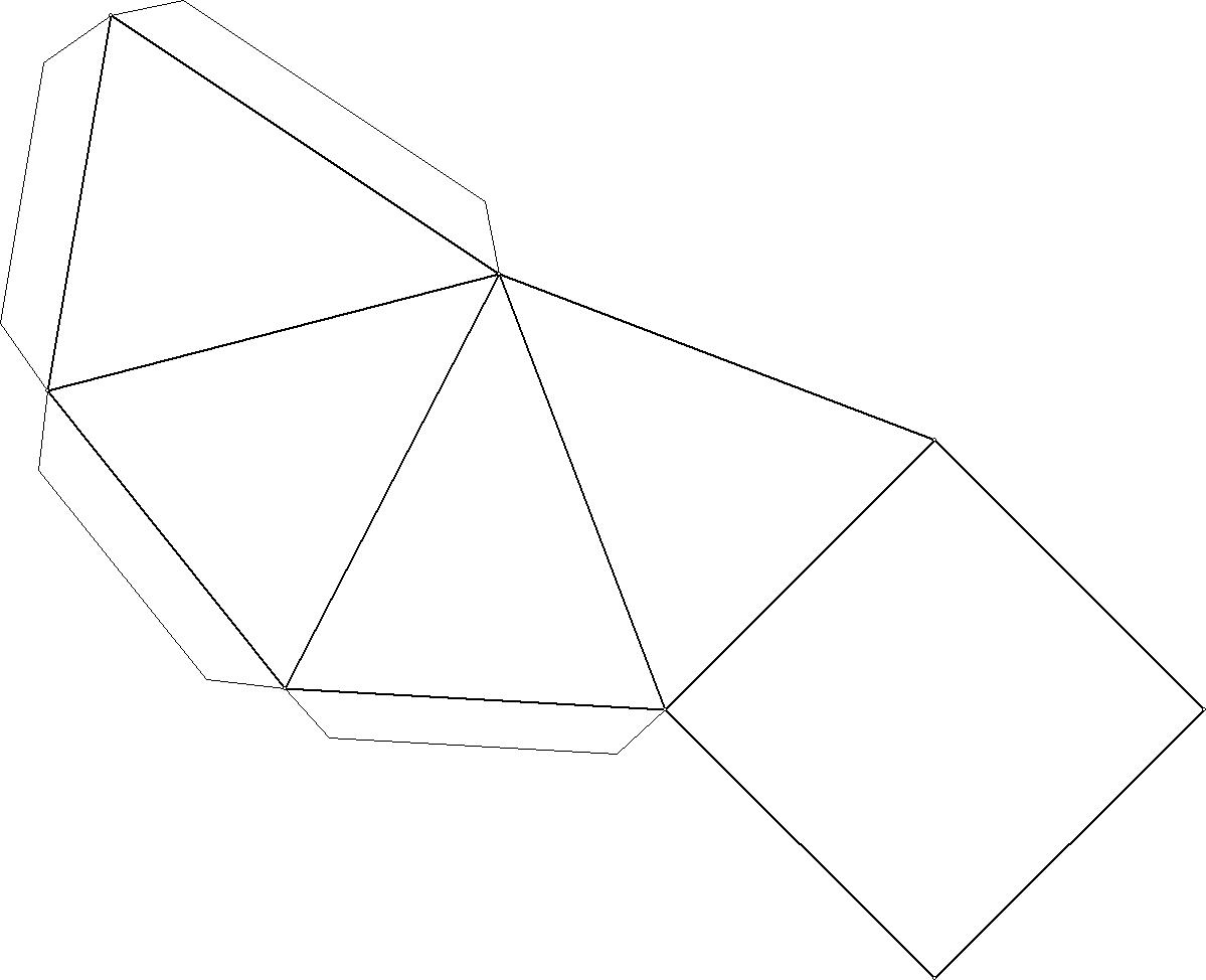 Best photos of net. Pyramid clipart square based pyramid royalty free download