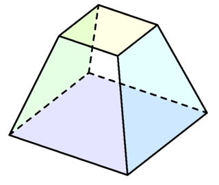 Pyramid clipart squre. Matlab draw a truncated