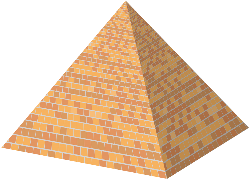 Transparent pyramid brick. Png free images toppng