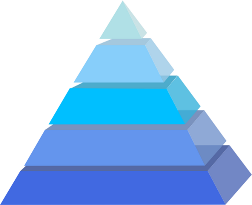 Transparent pyramid. Png file all