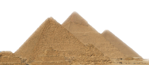 Transparent pyramid giza. Png images all picture