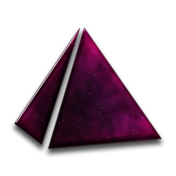 Transparent pyramid vector. Icons png free and