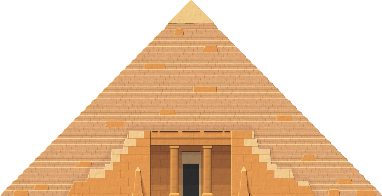 Vector sand pyramid egyptian. By herbertrocha on deviantart