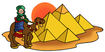 Free ancient egyptian clip. Pyramids clipart vector freeuse