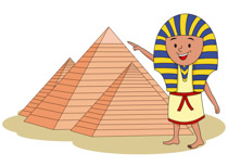 Pyramids clipart history egyptian. Tn young ancient boy