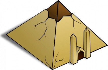 pyramids clipart object