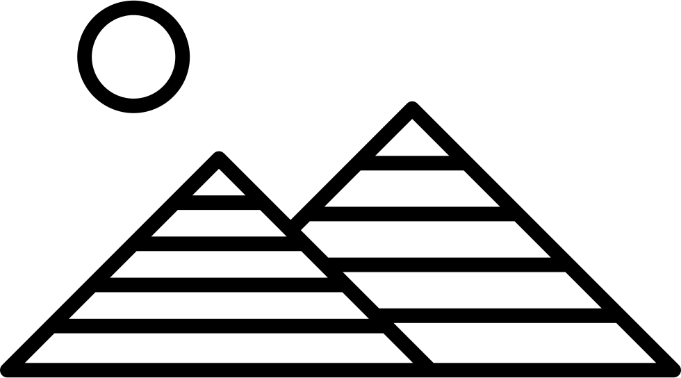 Egypt png icon free. Pyramids clipart svg picture library stock