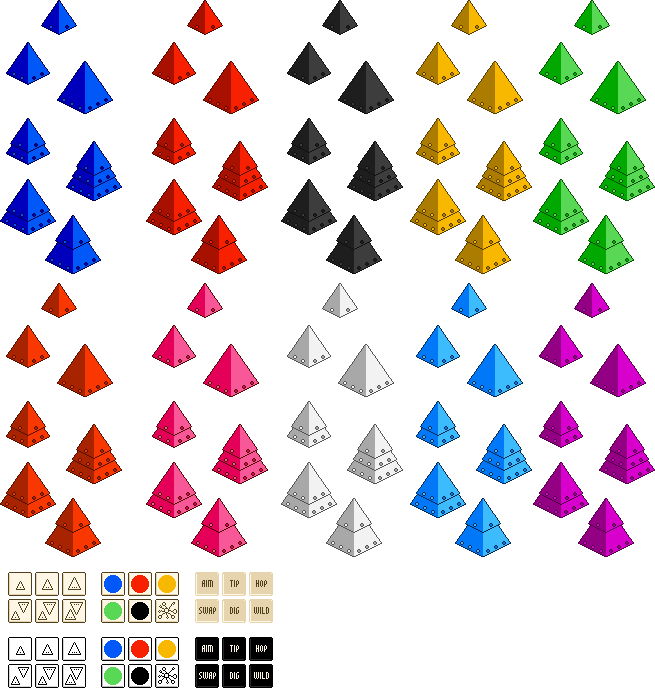 Pyramids clipart triangle pyramid. Free looney sprites boardgamegeek