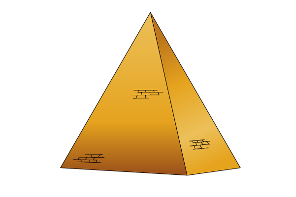 Pyramids clipart triangle pyramid. Egyptian drawing at getdrawings
