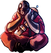 Pyro transparent. Sitting is best tf