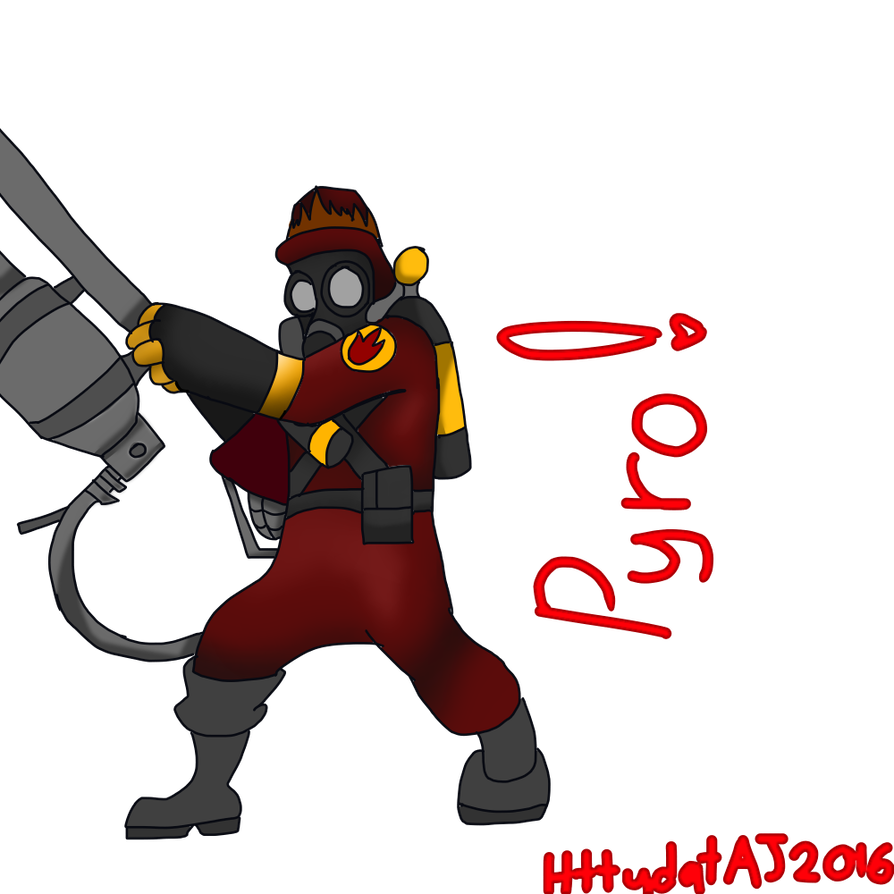 Pyro transparent. Agent request by httydataj