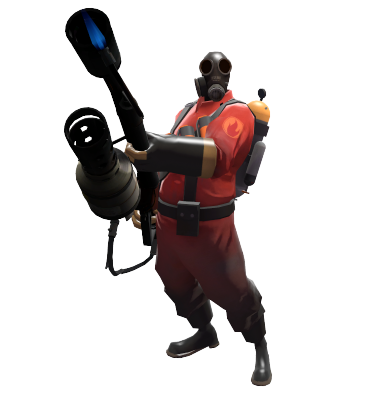Pyro transparent. Competitive official tf wiki