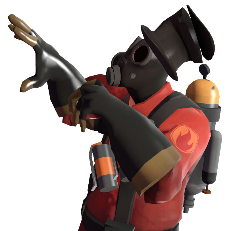 Pyro transparent gibus. Steam community guide styles