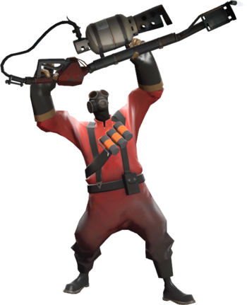 Basic strategy official tf. Flamethrower transparent pyro svg library