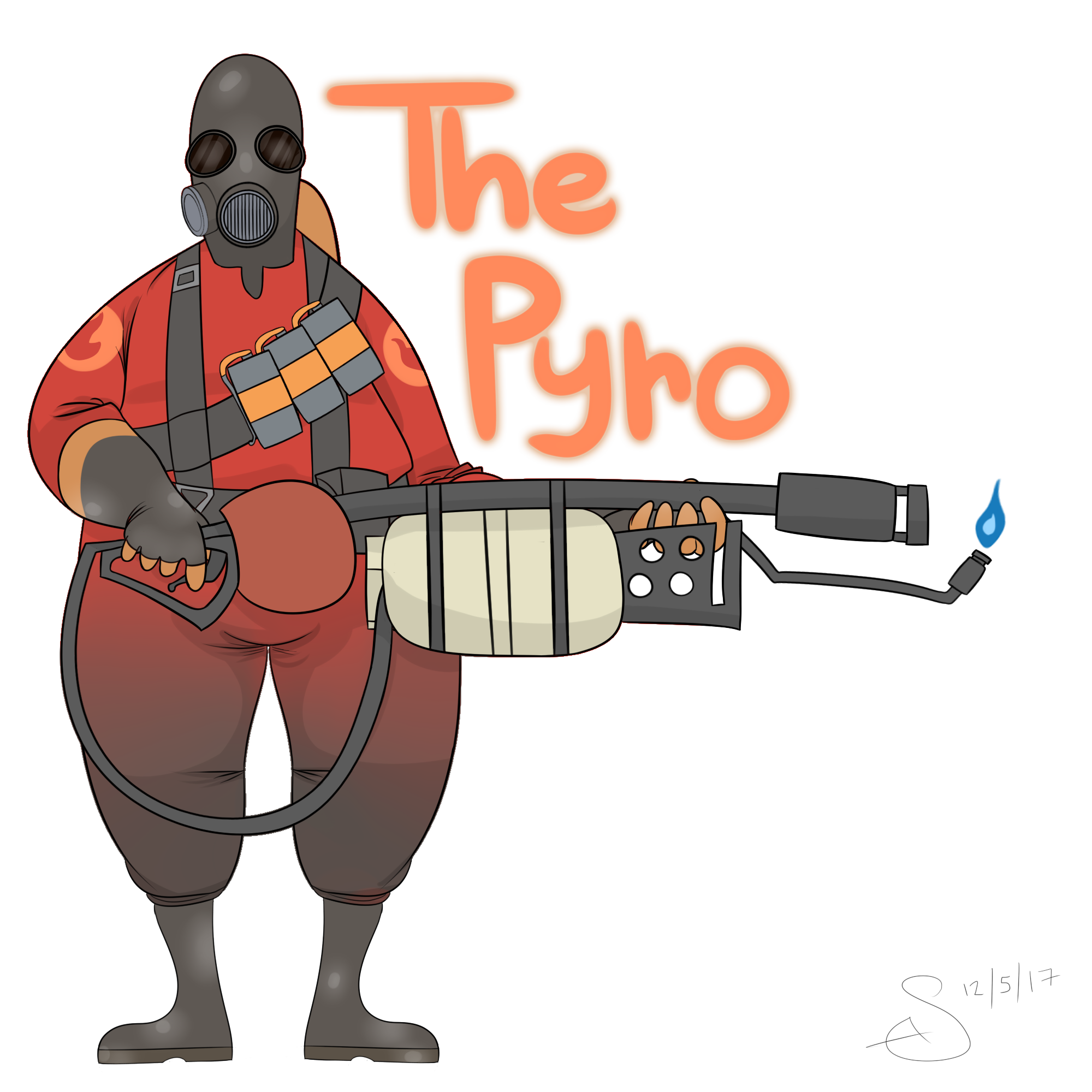 Pyro transparent thicc. Update when tf