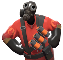 Pyro transparent winter. Sight for sore eyes