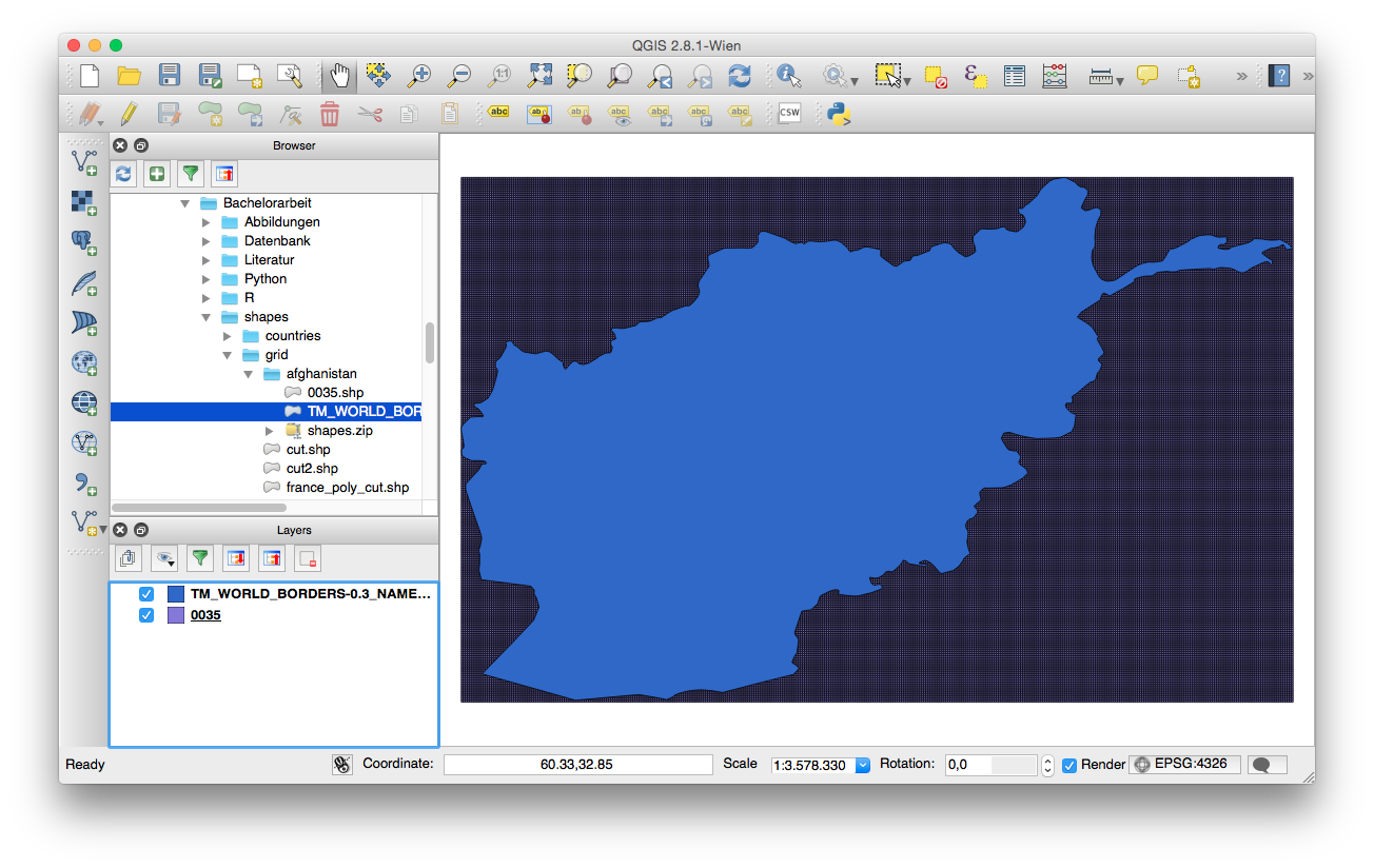 Qgis clip. Vector tool does not